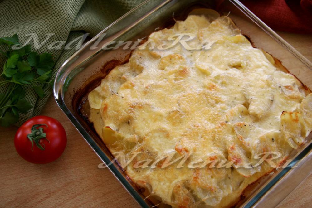 картофельная запеканка с печенью в духовке рецепт с фото