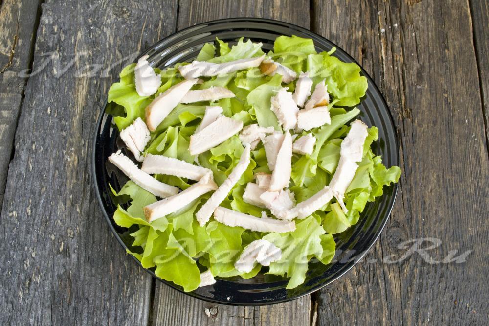салат с курицей классический простой рецепт с фото пошагово