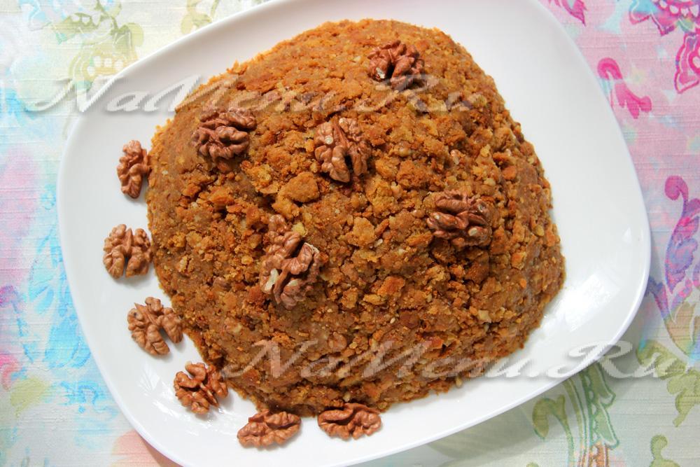 Торт муравейник в домашних условиях пошаговый рецепт