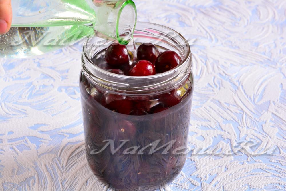 Настойка на вишне в домашних условиях рецепт 554