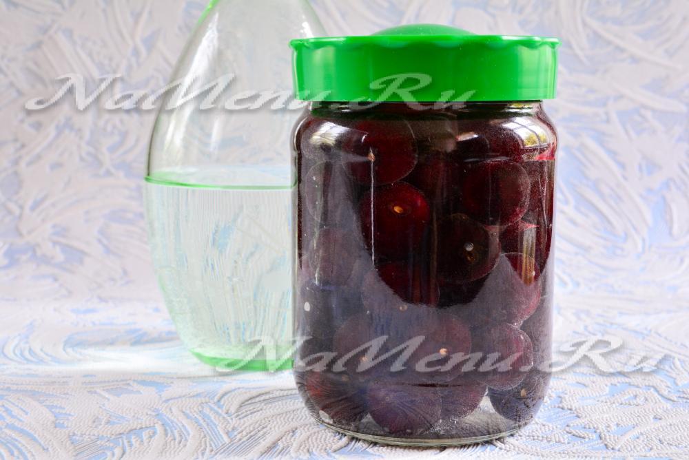 Настойка на вишне в домашних условиях рецепт 993