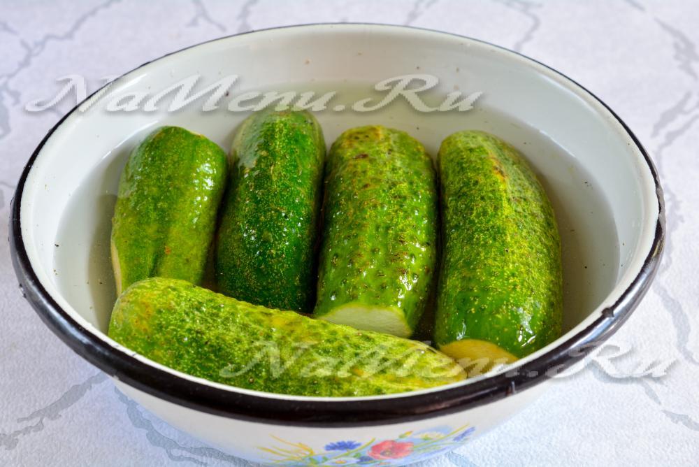 Как сделать зелень с солью