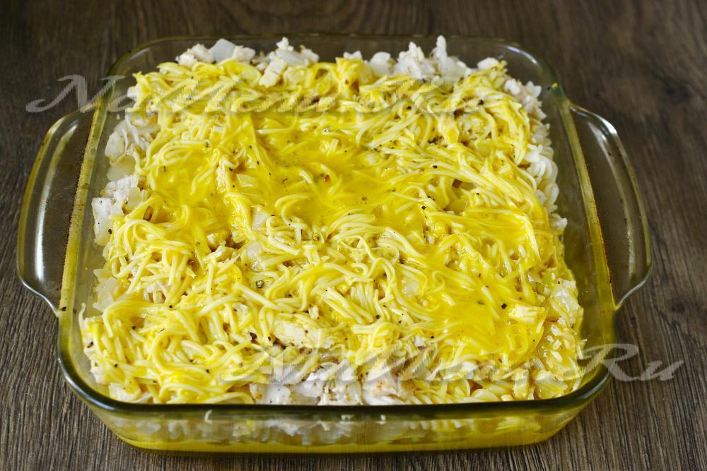 Как сделать макароны в духовке с сыром 482