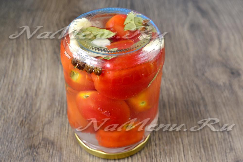 Консервация из помидор на зимуы