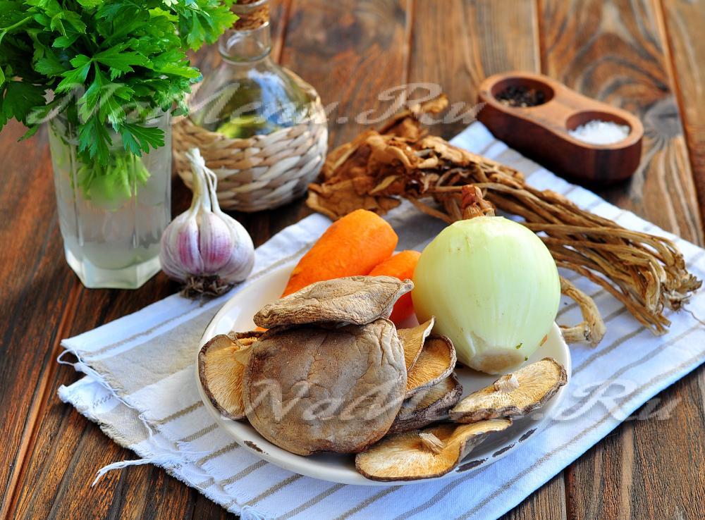 грибная икра из сухих грибов самый вкусный рецепт