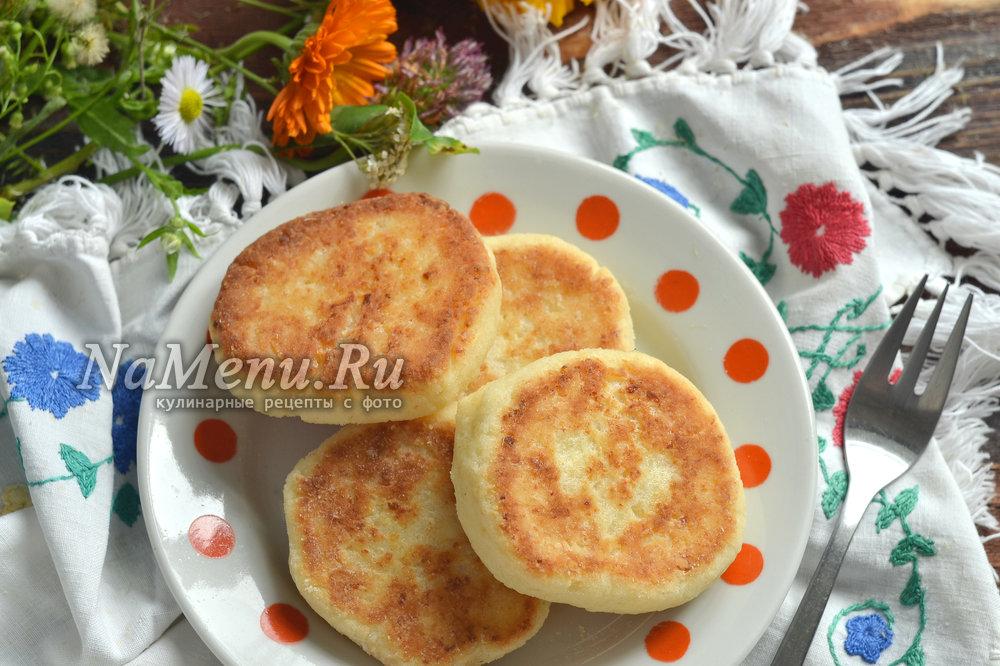 Сырники из творожной массы рецепт с фото пошагово пышные