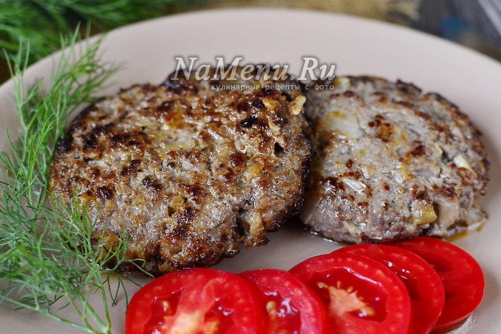 как приготовить бифштекс рубленный из говядины в домашних условиях