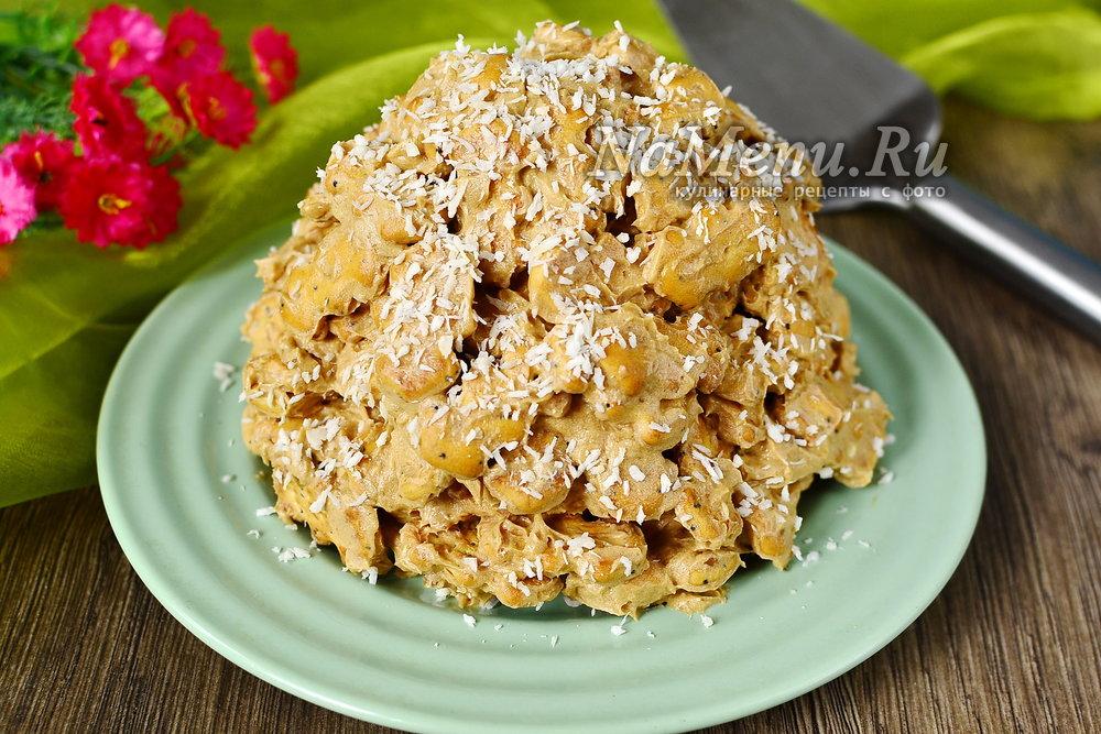 Печенья муравейник из печенья и сгущенки рецепт с пошагово 129