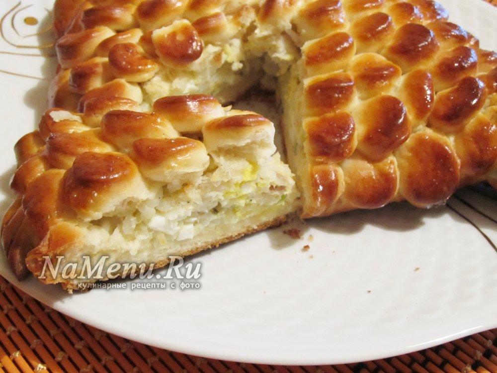 Тесто для пирожков с рыбой рецепт