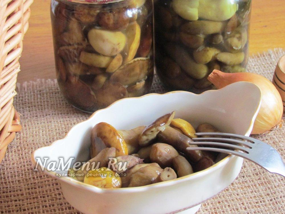 Маринование грибов в домашних условиях рецепт 12