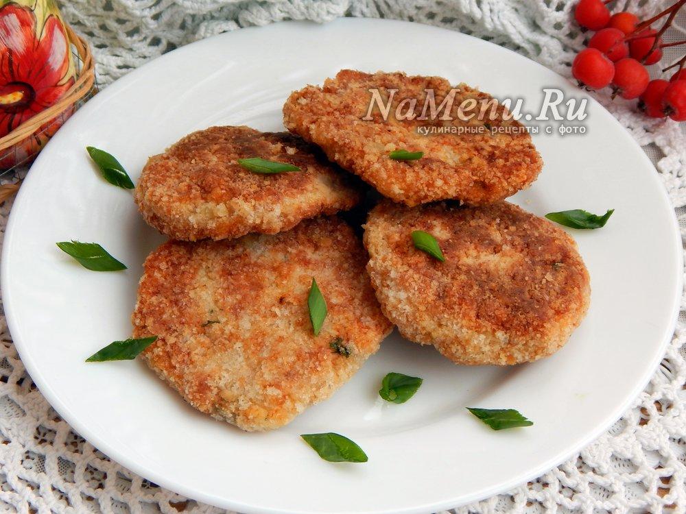 Вкусные рыбные котлеты рецепты