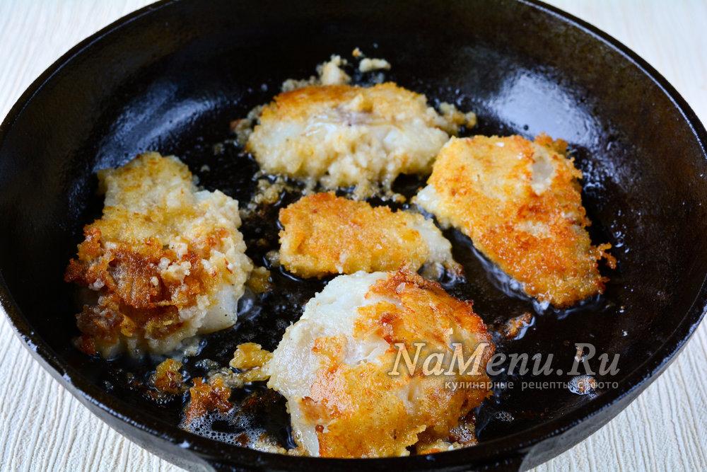 Как пожарить филе минтая на сковороде рецепт