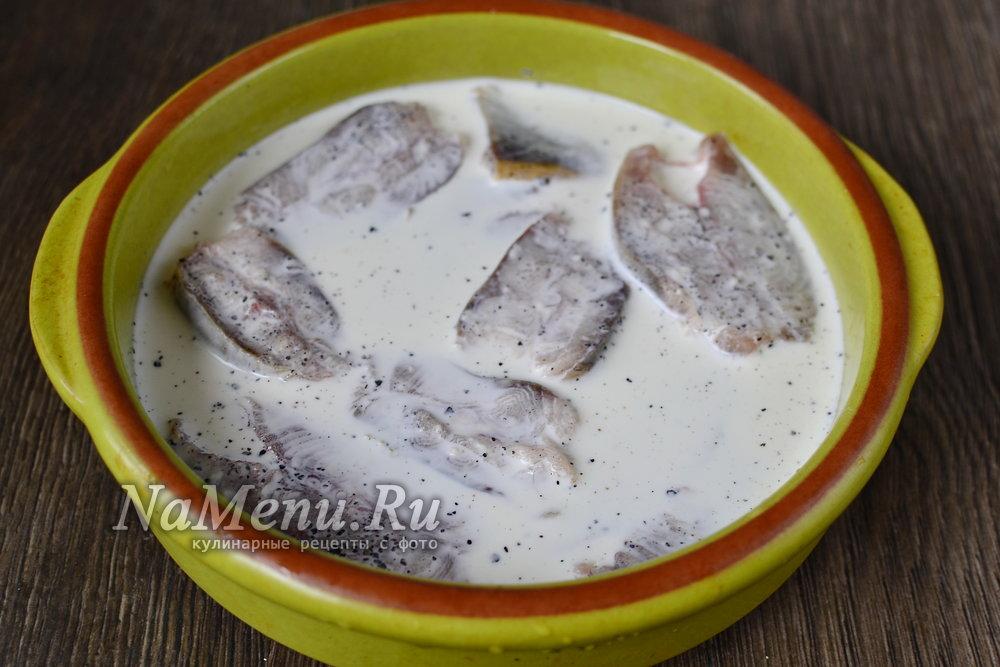 Горбуша в духовке рецепты со сливками