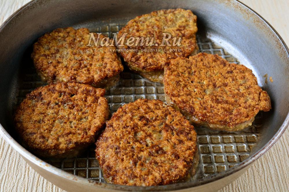 Печеночные котлеты из курицы рецепт пошагово