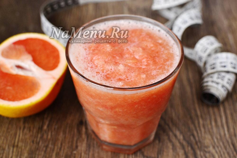 Жиросжигающие коктейли с грейпфрутом