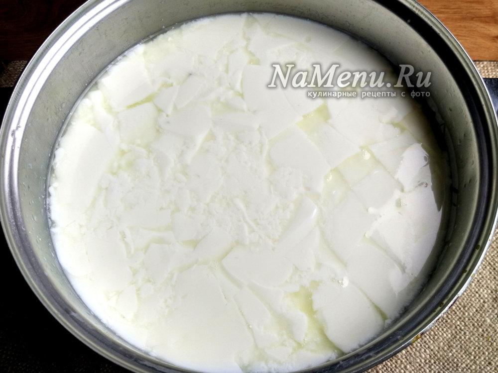Как сделать из молока сыр с пепсином  319