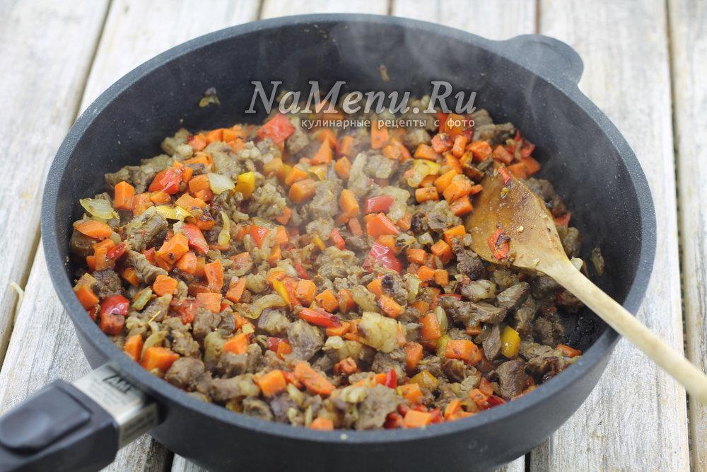 лагман из баранины рецепт классический с фото