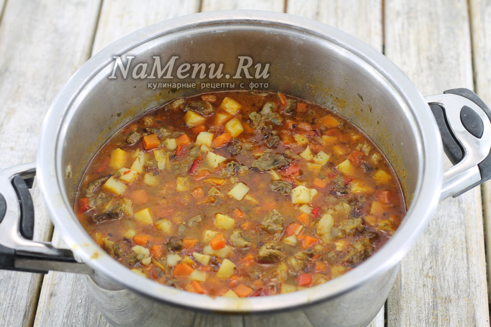 лагман рецепт классический пошаговый рецепт из баранины
