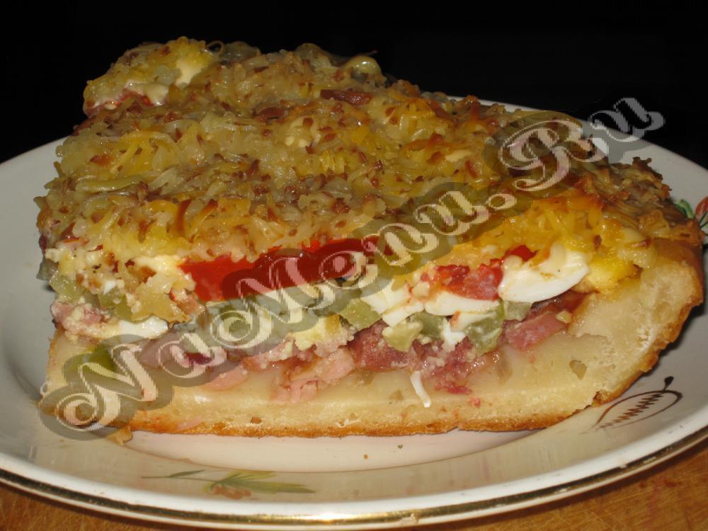 Найти рецепт пиццы на кефире