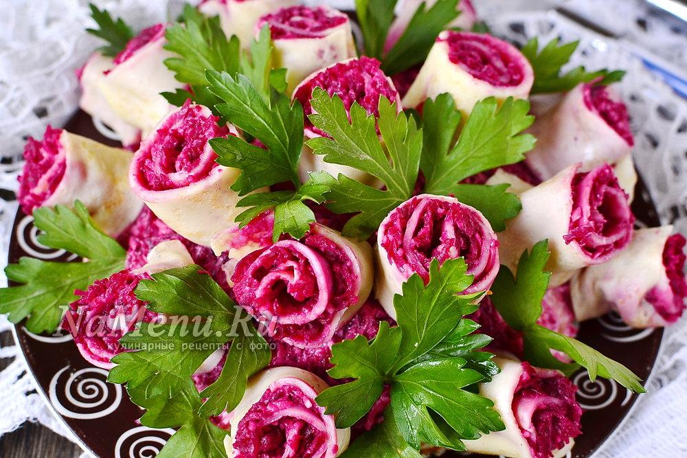 Рецепт салата букет невесты