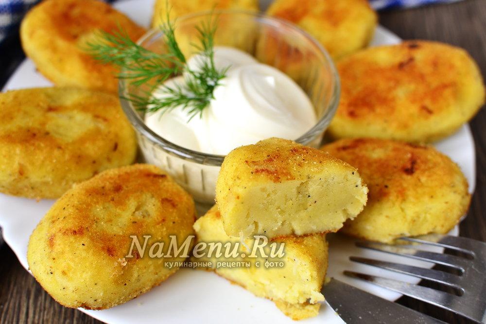 Вкусные котлеты из картошки рецепт