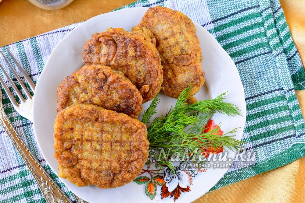 Оладьи из куриной печени рецепт пошагово