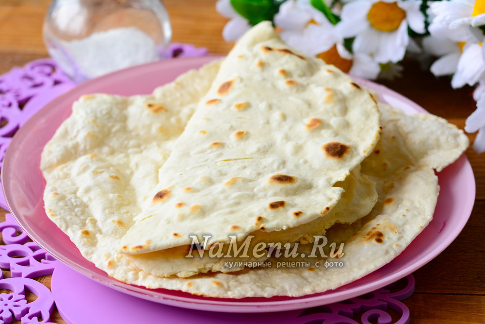 Рецепт армянского лаваша в домашних условиях в  941