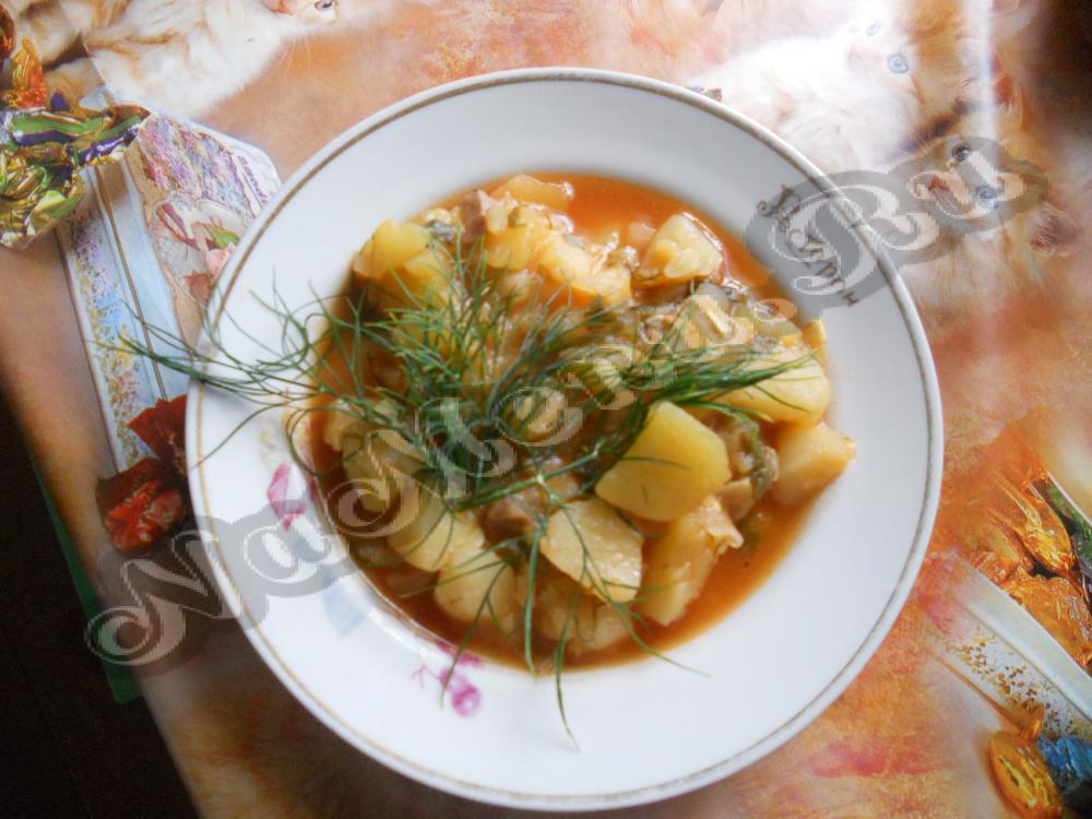 Рецепты Рагу С Мясом И Овощами картинки