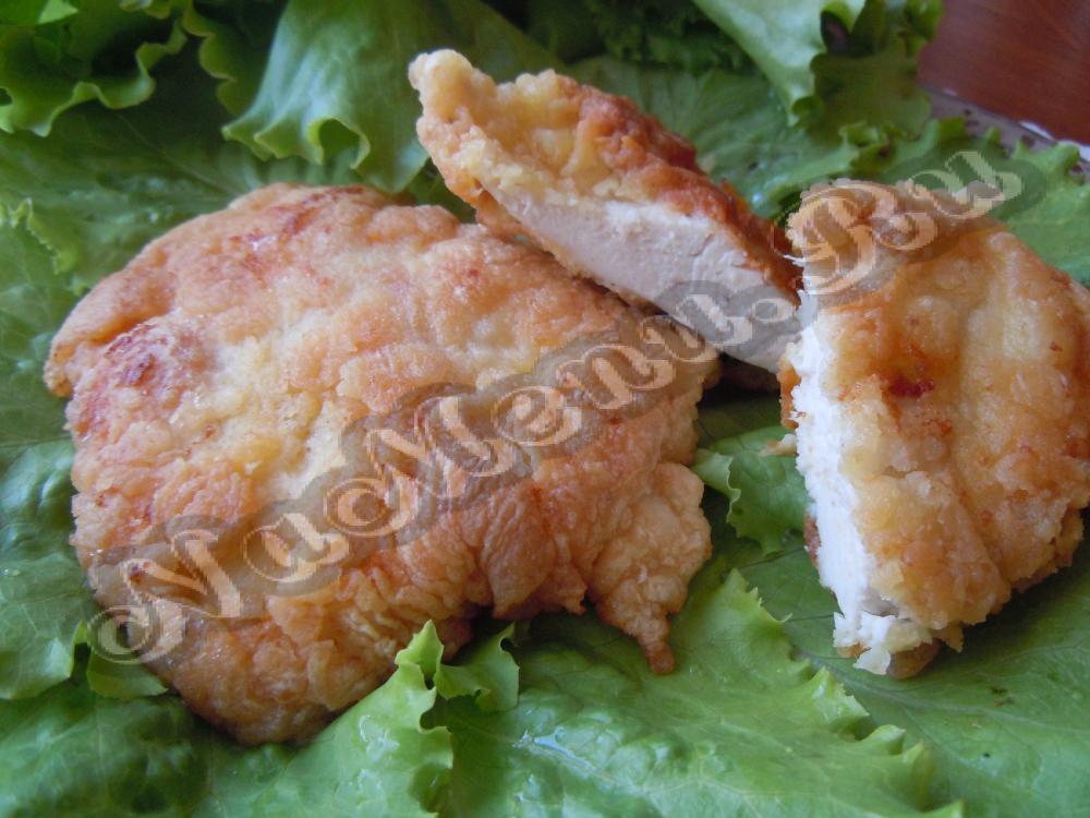 Рецепт филе курицы в кляре с пошагово