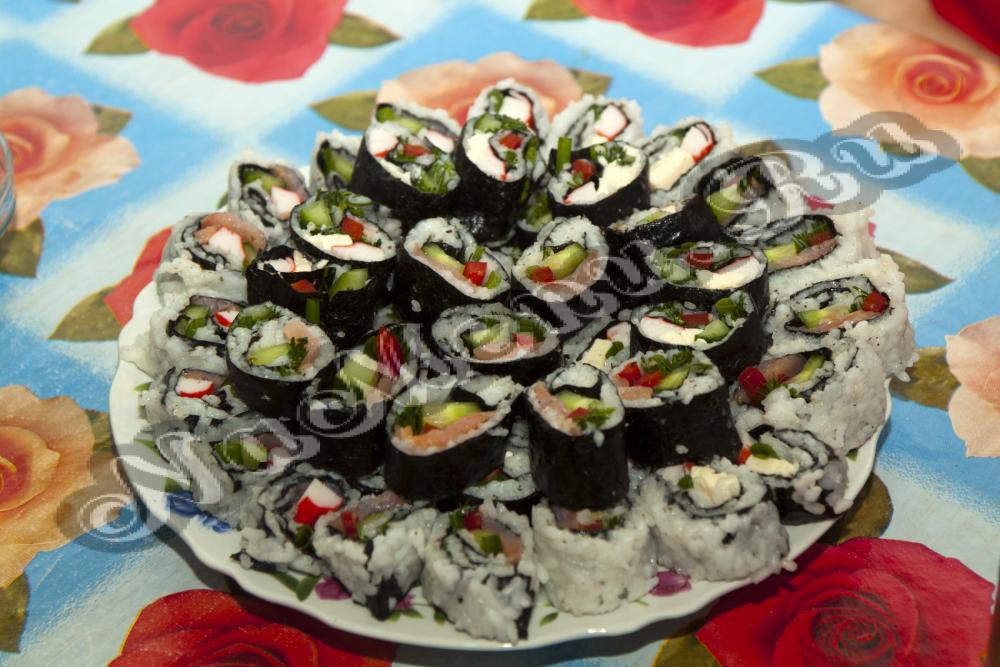 Как приготовить суши дома фото пошаговая инструкция - a