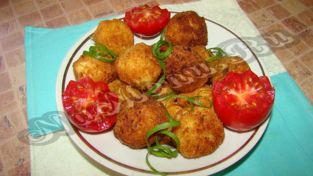 Рецепт из вчерашней картошки