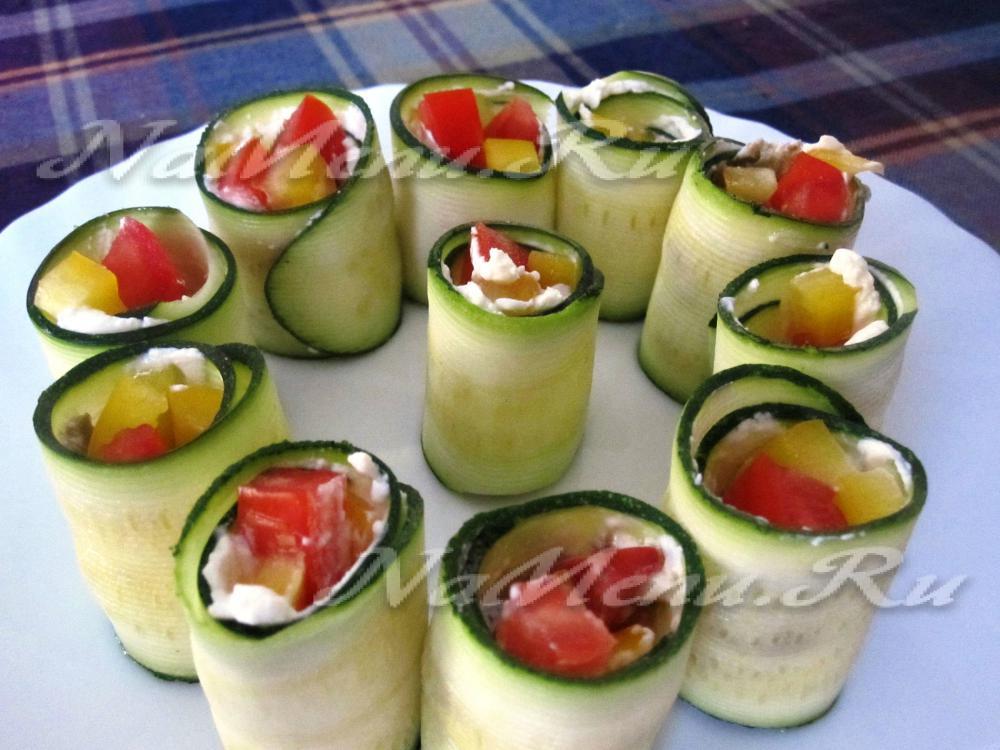 Роллы с овощами в домашних условиях рецепт