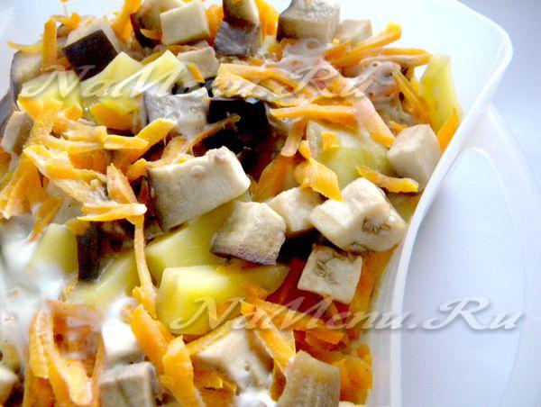 Овощное рагу в пароварке рецепты с фото