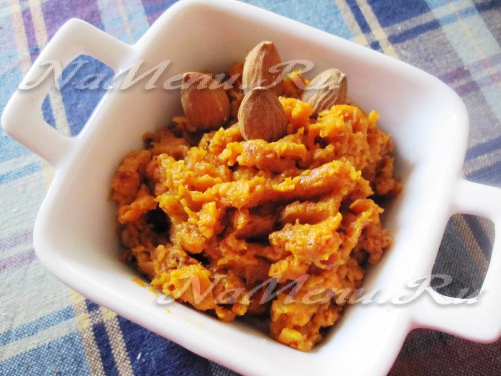 пирог из моркови в духовке рецепт с фото