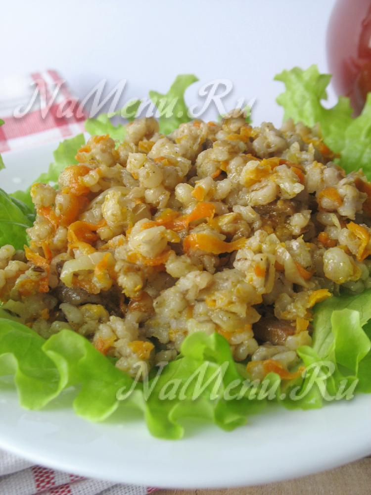 салат с грибами и картофелем рецепт