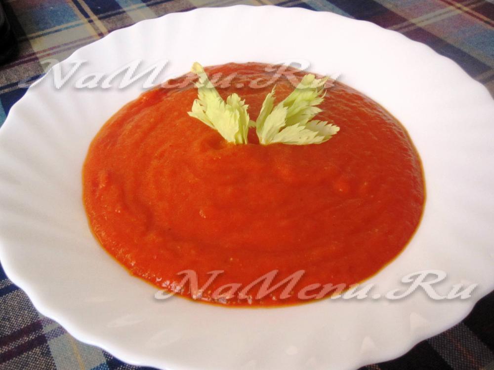 рецепт приправы с сладкого перца в суп
