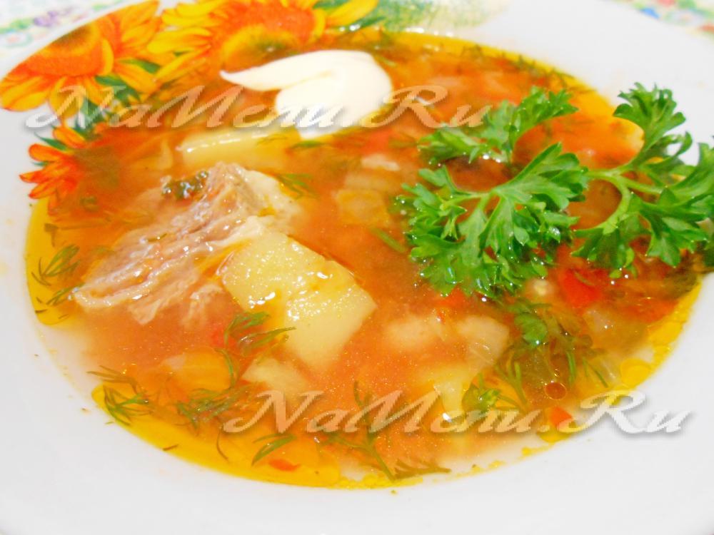 Рецепт супов для поджелудочной железы