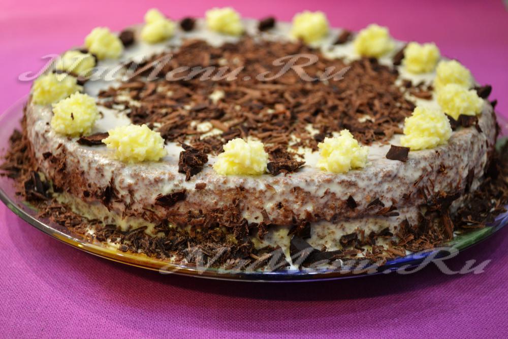 Рецепты торты со сгущенкой