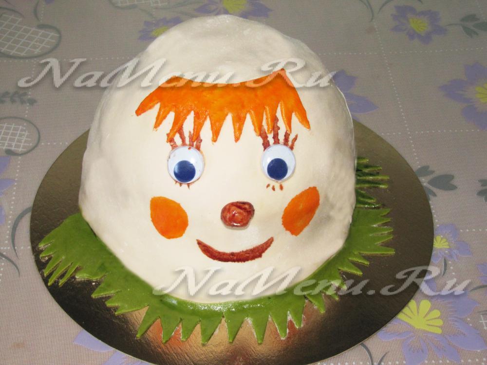Простой торт для девочки на день рождения фото 7