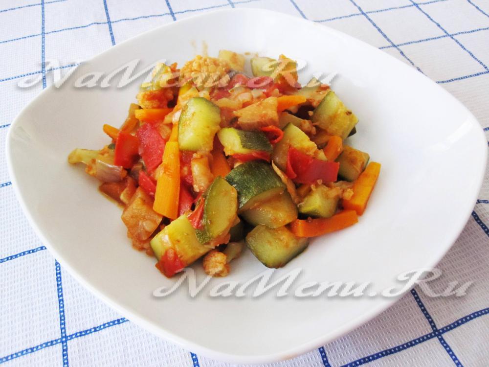Как сделать рагу с овощами 907
