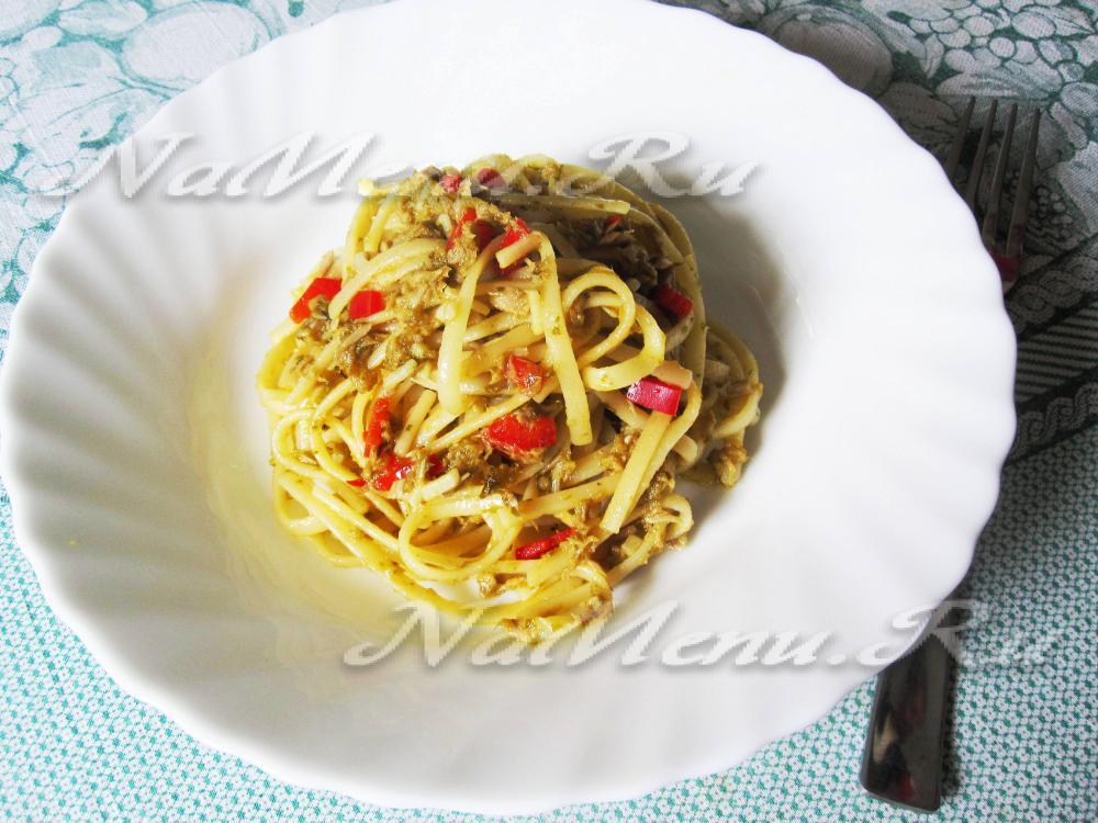 Спагетти по итальянски рецепт с фото