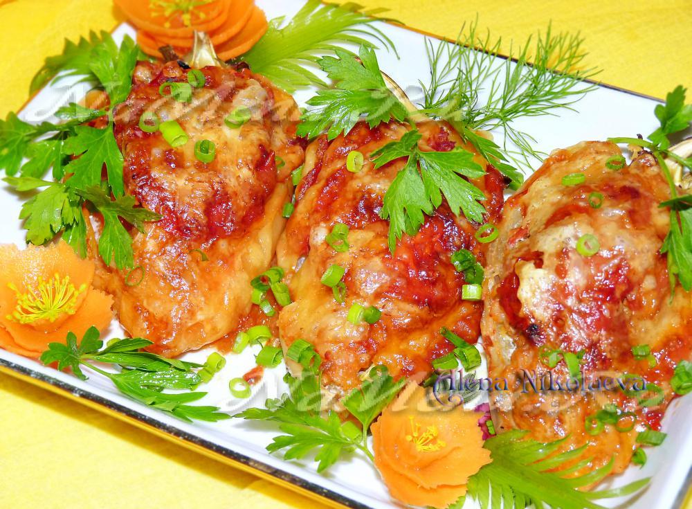 Перец фаршированный мясом без риса калорийность