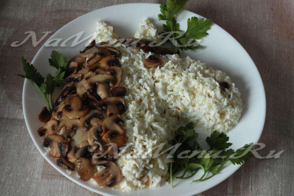 Запеканка с курицей и картофелем в духовке рецепт с фото