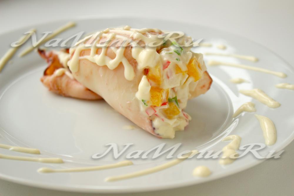 Свинина с ананасом и сыром в духовке с фото