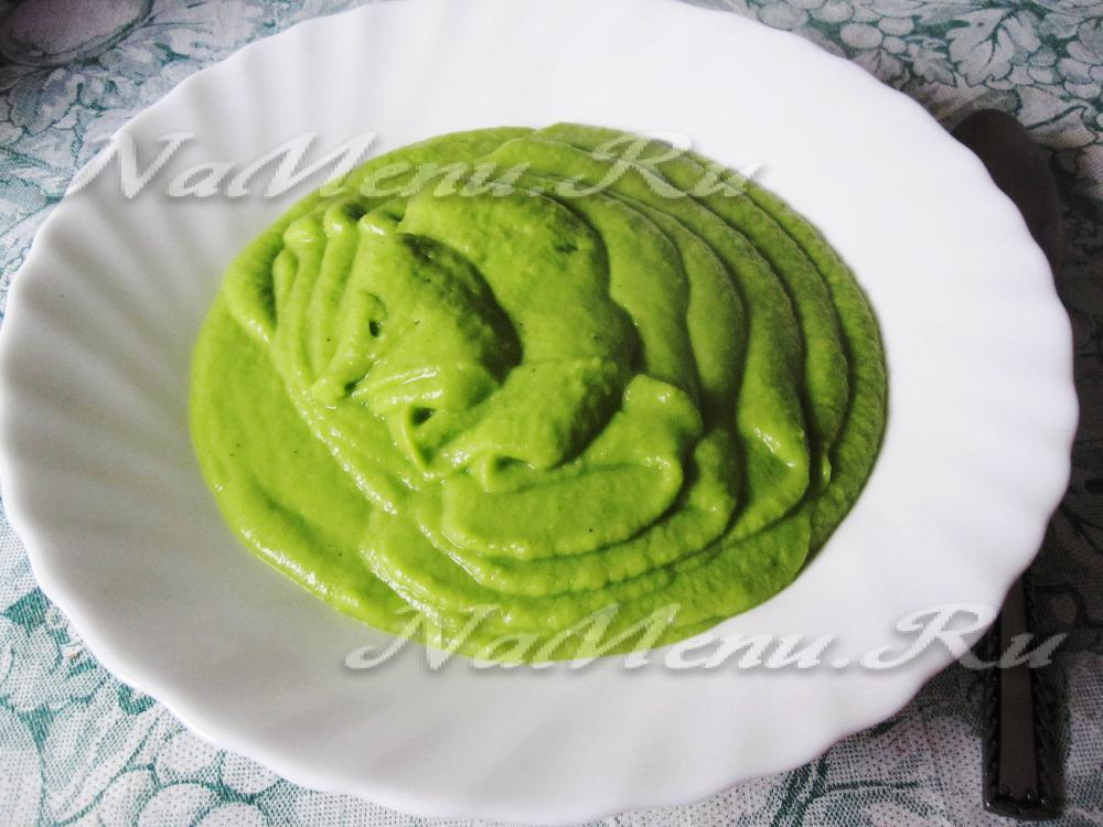 гороховое суп пюре рецепт приготовления