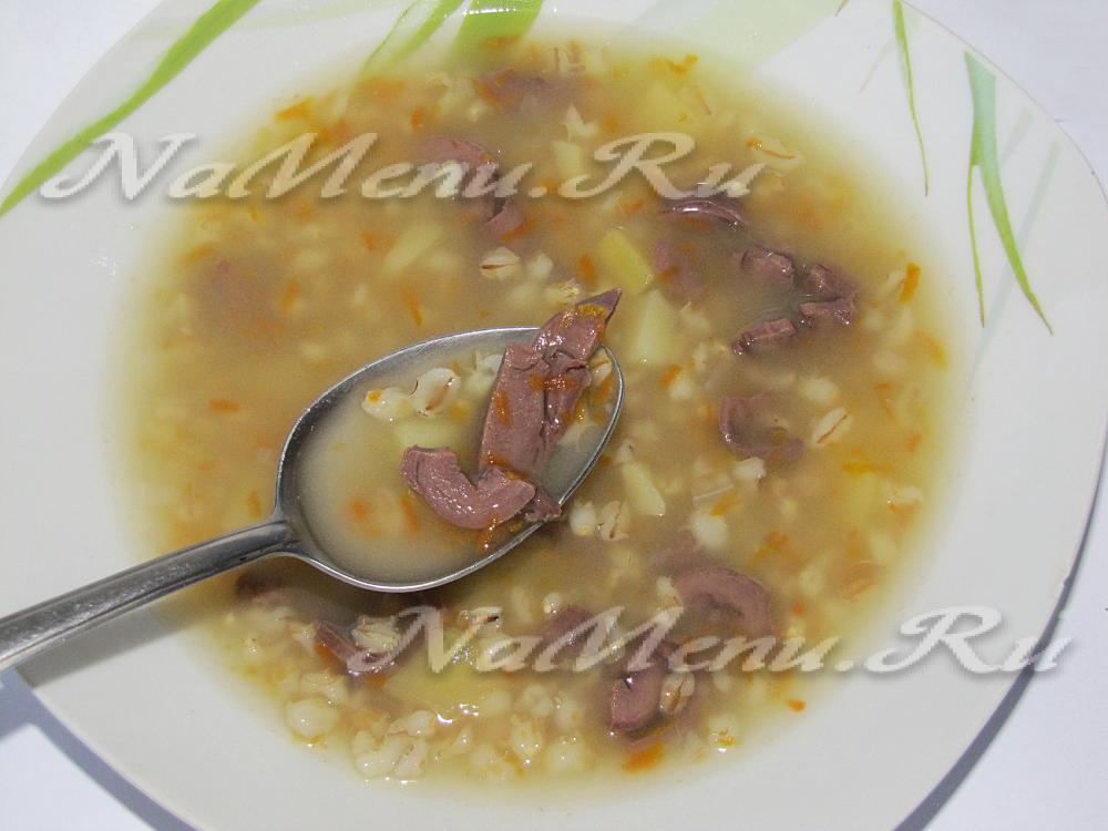 перловый суп с капустой рецепт