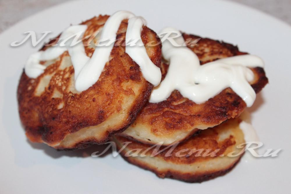 сырники на скорую руку рецепт с фото