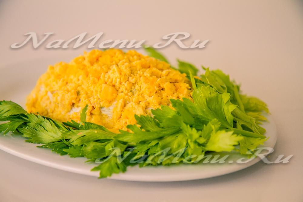 салат из рыбных консервов рецепты с картошкой в