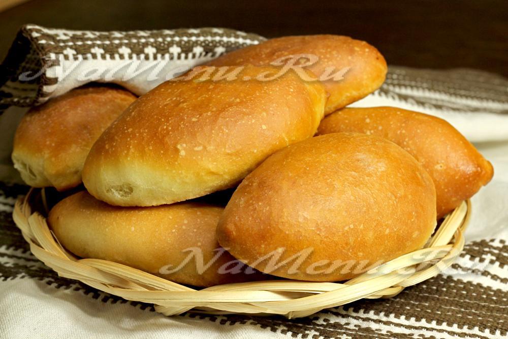 пирожки с грибами в духовке рецепт видео