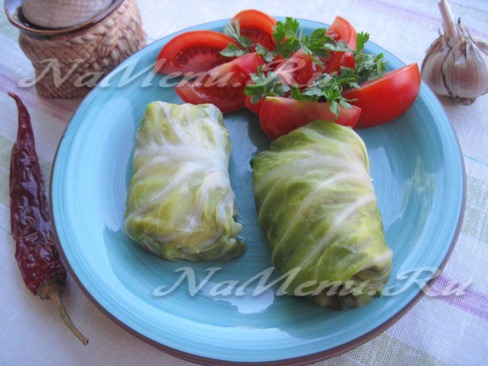 Голубцы из молодой капусты в мультиварке рецепт пошагово с фото